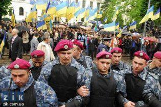Оппозиции запретили митинговать во время обращения Януковича к народу