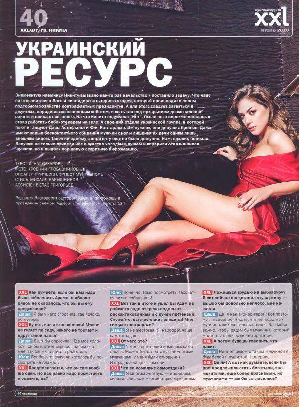 Даша Астаф'єва та Юля Кавтарадзе оголились для XXL