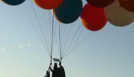 Американец пересек Ла-Манш на воздушных шарах