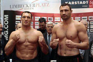 Кличко переважив Сосновського на 11 кілограмів