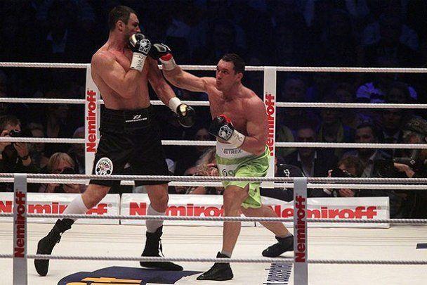 Як Кличко нокаутував Сосновського. Фотозвіт