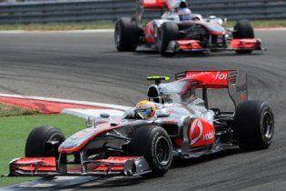 Формула-1. Гонщики McLaren перемогли в Туреччині