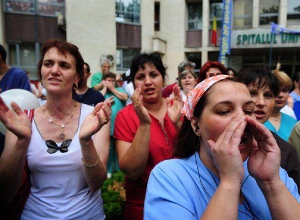 """В Румынии начались бессрочные акции протеста против политики """"затягивания поясов"""""""