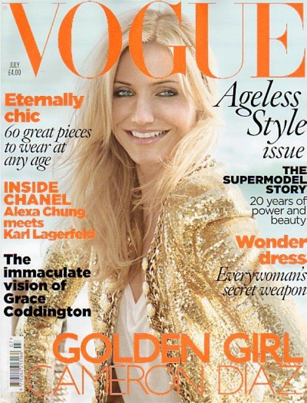 Камерон Діаз знялась для Vogue