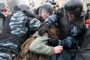 У Москві міліція розігнала мітинг опозиції кийками