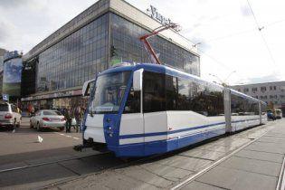 На линии скоростного трамвая в Киеве будут работать только четыре станции