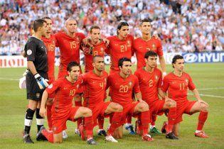 Збірна України зіграє два матчі з Португалією