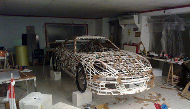 В Австрии построили Porsche на велотяге