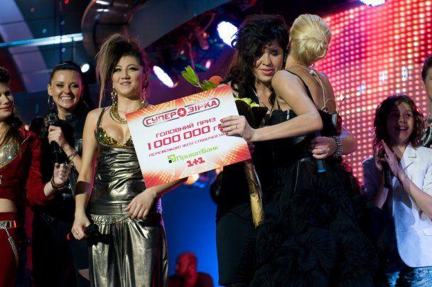 """В шоу """"Суперзірка"""" определился победитель и обладатель миллиона гривен"""