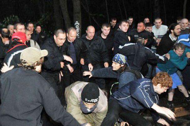У Харкові жорстоко побито захисників парку