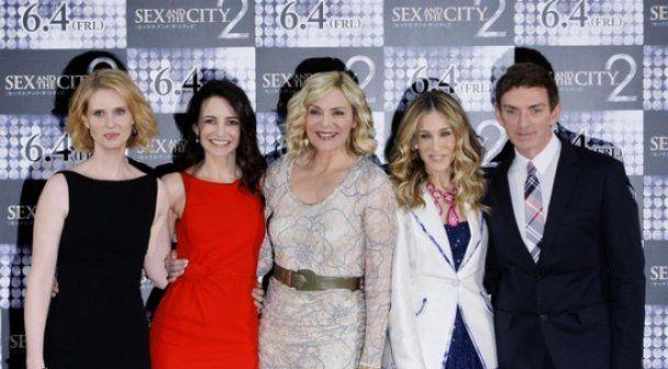 """Головні героїні """"Сексу у великому місті-2"""" знялись для Marie Claire"""