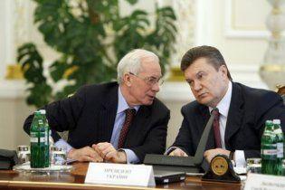 Янукович и Азаров пришли на Майдан советоваться с предпринимателями