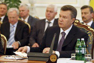 Янукович вважає, що опозиція має зникнути