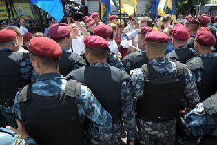 """""""Беркут"""" знову не пустив опозиціонерів до Януковича"""
