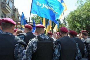 "Міліція заблокувала депутатів-опозиціонерів біля палацу ""Україна"""
