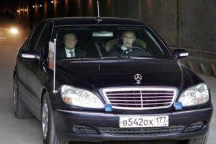Автомобіль Путіна потрапив у ДТП