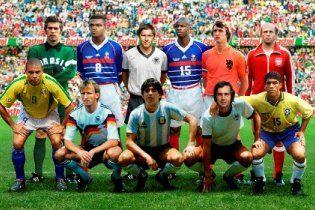 Визначено ідеальну футбольну збірну планети