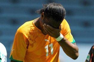 Дрогба пропустить чемпіонат світу через травму