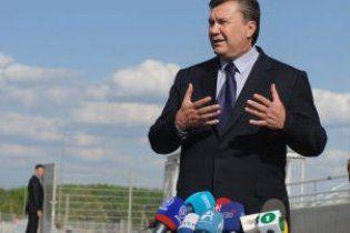 Янукович не отказался от идеи провести Олимпиаду в Украине
