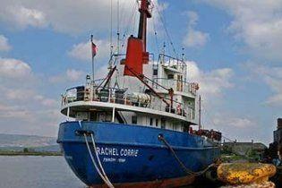 ВМС Израиля взяли судно Rachel Corrie под контроль