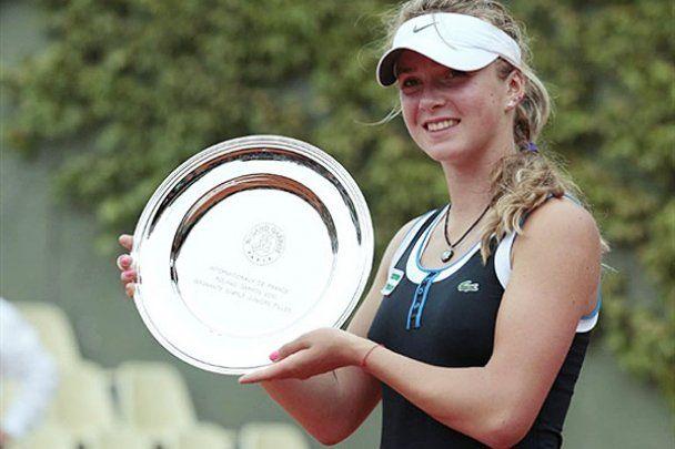 15-летняя украинка выиграла Roland Garros