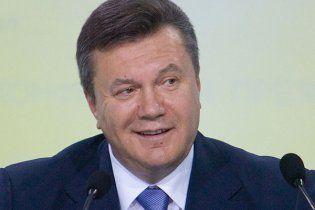 Янукович снова перепутал географию