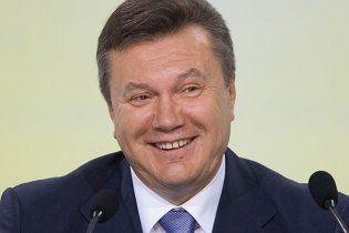 Янукович дал торжественный прием по случаю Дня Независимости