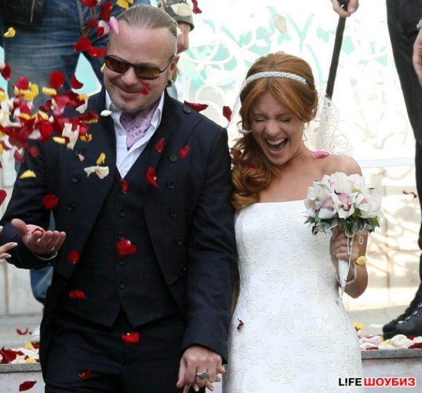 Подольська та Пресняков відсвяткували весілля на кораблі