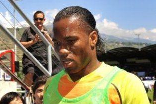 Дрогба зіграє на чемпіонаті світу зі зламаною рукою