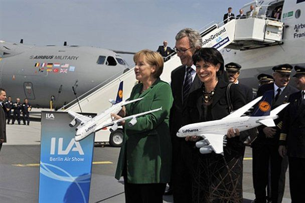 Міжнародний авіасалон ILA-2010 у Берліні