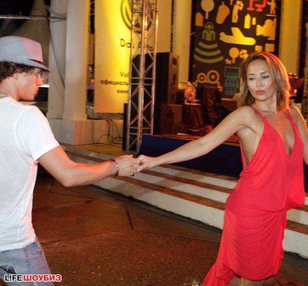Жанна Фриске устроила ночь танцев