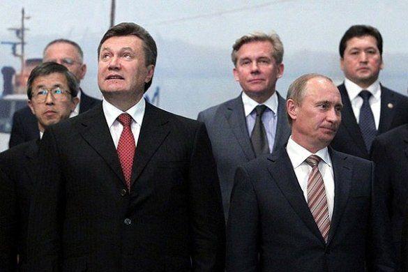 Віктор Янукович, Володимир Путін_2