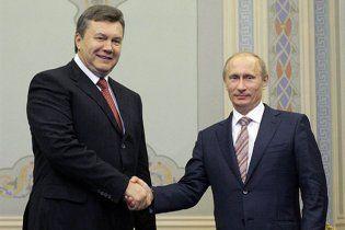 Путін привітав Януковича: в Росії Вас дуже поважають