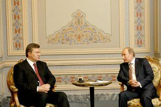 Янукович і Путін у Криму говоритимуть про газ