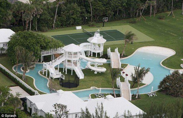 Будинок Селін Діон з аквапарком коштує 20 мільйонів