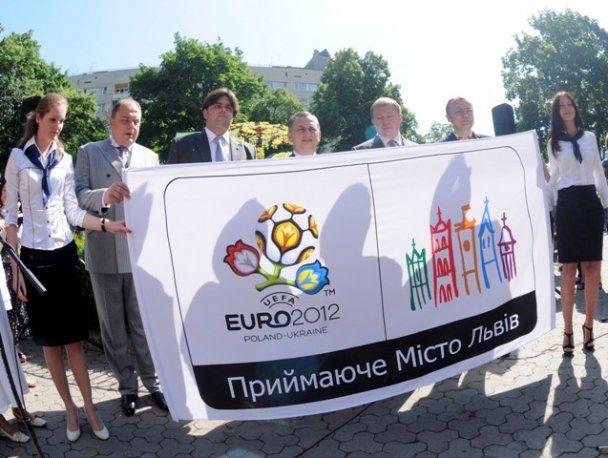 У Львові представлено логотип міста до Євро-2012