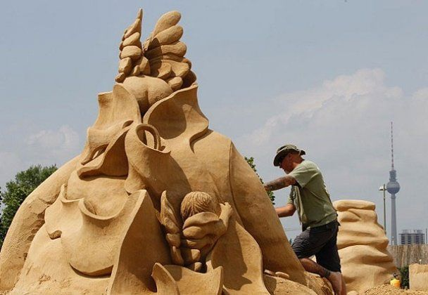 Фестиваль песчаной скульптуры Sandsation