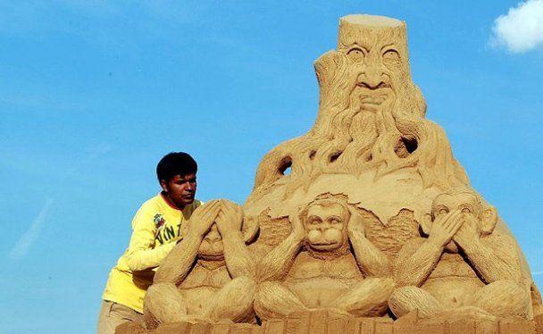 Фестиваль піщаної скульптури Sandsation