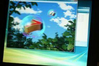 Toshiba показала монітор для перегляду 3D без окулярів