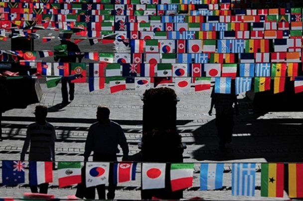 Накануне Чемпионата Мира по футболу