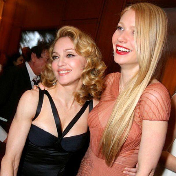 Мадонна не сварилась із Гвінет Пелтроу