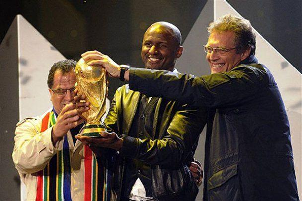 Репетиция торжественного открытия ЧМ-2010 в ЮАР