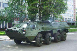 Україна відправила в Ірак першу партію БТР-4