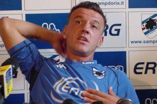 Відомого італійського футболіста дискваліфікували на 12 років