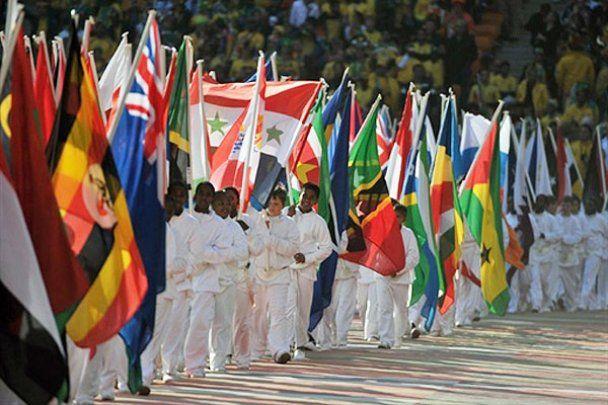 Церемония открытия Чемпионата мира-2010