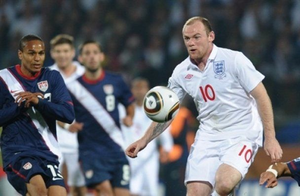 ЧМ - 2010.  Англия спотыкается на американцах (видео)