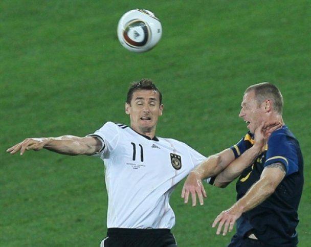 ЧМ- 2010. Германия разгромила Австралию (видео)