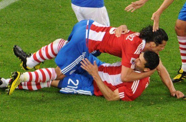 ЧС-2010. Італія і Парагвай переможця не виявили (відео)