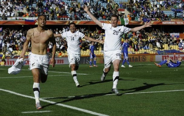 Нова Зеландія і Словаччина здобули по історичному очку на чемпіонаті світу