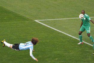 ФІФА: збірна Аргентини забила гол не за правилами
